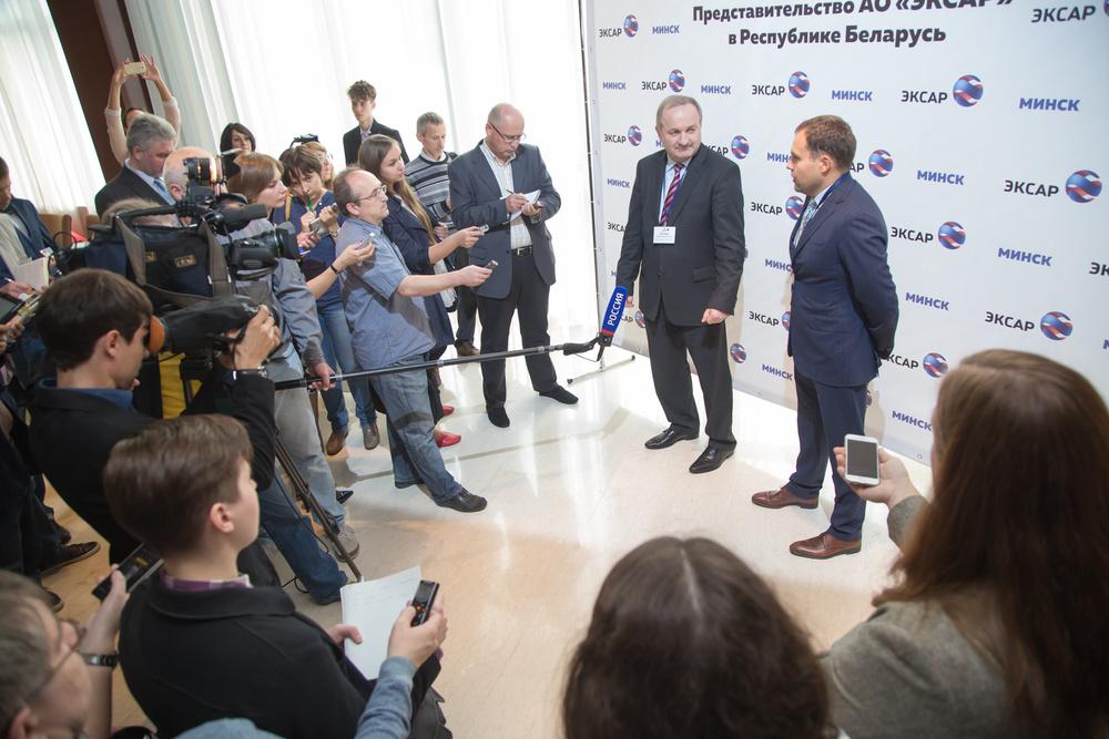 Открытие Представительства АО Эксар в Республике Беларусь