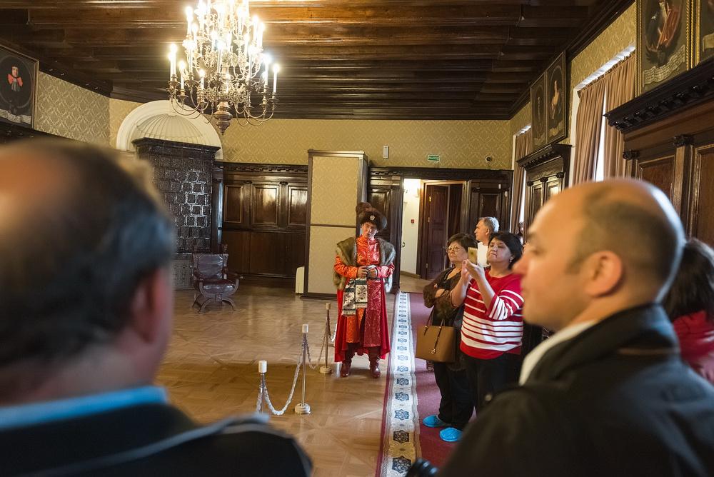 Посещение замка Радзивиллов